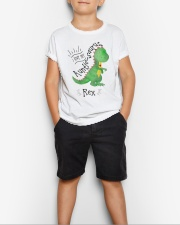 Kids - I love my Auntie Saurus  Youth T-Shirt lifestyle-youth-tshirt-front-1