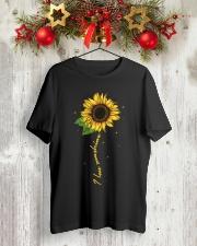 I love sunshine - Sunflower Classic T-Shirt lifestyle-holiday-crewneck-front-2