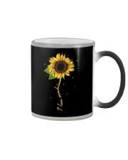 I love sunshine - Sunflower Color Changing Mug thumbnail