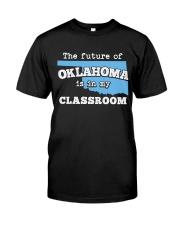Teacher - The future of Oklahoma  Premium Fit Mens Tee thumbnail