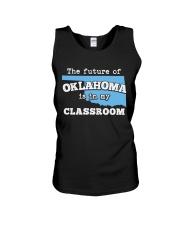 Teacher - The future of Oklahoma  Unisex Tank thumbnail
