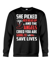 Nurse - She Picked Her Head Up Crewneck Sweatshirt thumbnail