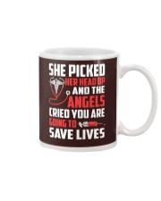 Nurse - She Picked Her Head Up Mug thumbnail