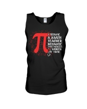 Math Teacher - Your Problem is worth my time Unisex Tank thumbnail