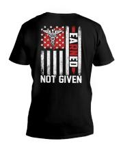 Nurse: EaRNed not Given V-Neck T-Shirt thumbnail
