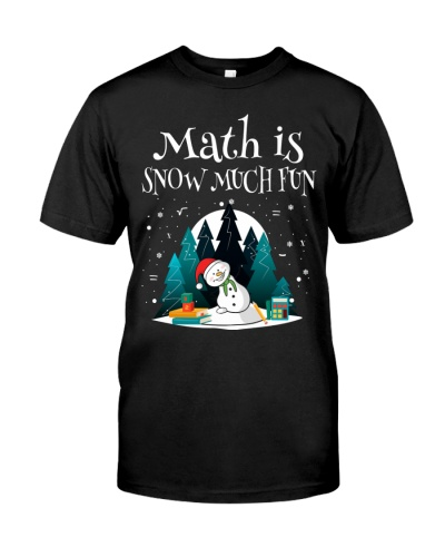 Math Teacher - Math is Snow much Fun