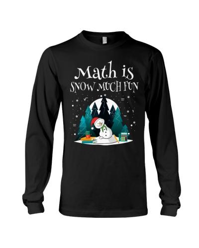 Math Teacher - Math is Snow much Fun