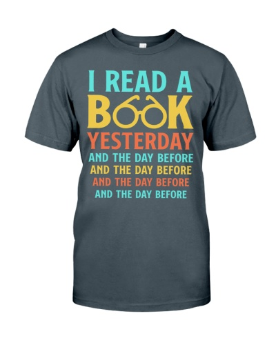 I Read a Book Yesterday