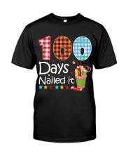 Teacher  - 100 Days Nailed it Premium Fit Mens Tee tile