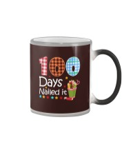 Teacher  - 100 Days Nailed it Color Changing Mug thumbnail