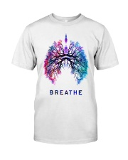Respiratory Breathe Mug Premium Fit Mens Tee thumbnail