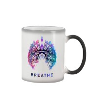 Respiratory Breathe Mug Color Changing Mug tile