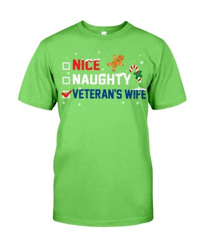 Veteran - Veteran's Wife - Christmas