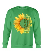 Math Teacher - A day without math Crewneck Sweatshirt thumbnail