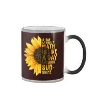 Math Teacher - A day without math Color Changing Mug thumbnail