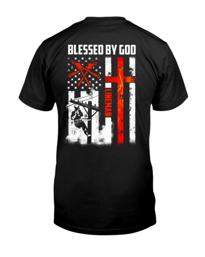 Lineman - Christ - Blessed By God
