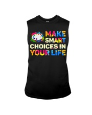 Art Teacher - Make smART choices in your life Sleeveless Tee thumbnail