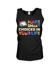 Art Teacher - Make smART choices in your life Unisex Tank thumbnail