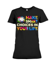 Art Teacher - Make smART choices in your life Premium Fit Ladies Tee thumbnail