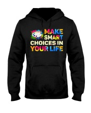 Art Teacher - Make smART choices in your life Hooded Sweatshirt thumbnail