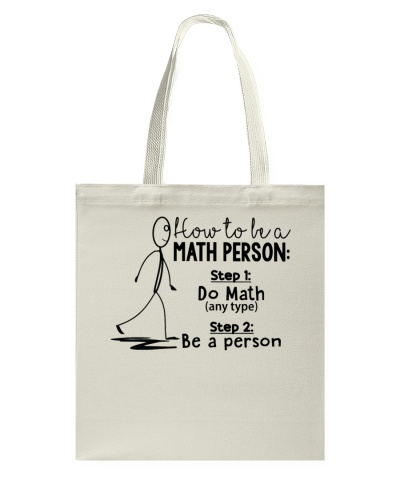 Math Teacher - Math Person