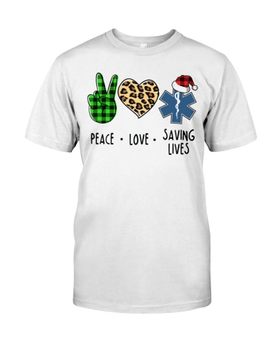 EMS - Peace - Love - Saving Lives - Christmas