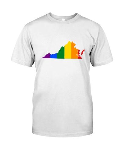 LGBT Pride - Virginia Map