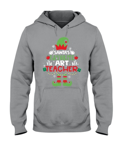 Art Teacher - Santa's Favorite Art Teacher