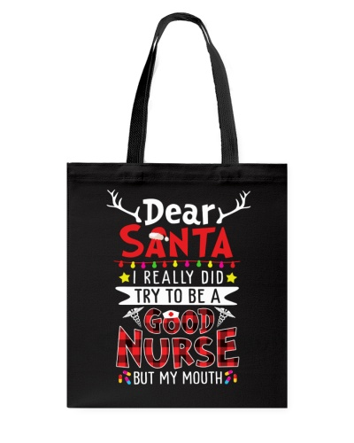 Nurse - Dear Santa - Good Nurse - Christmas gift