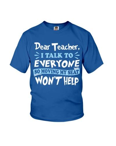 Dear Teacher I Talk