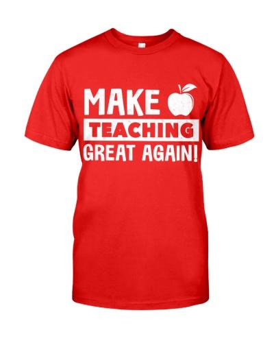 Make Teaching Great Again
