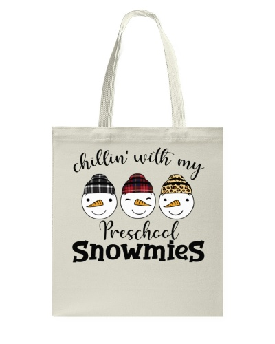 Teacher - Chillin with my Preschool snowmies