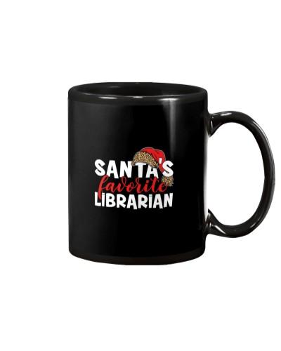 Librarian - Santa's Favorite - Christmas Gift