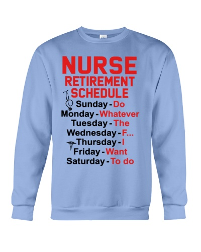 Nurse Retirement Schedule