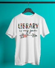 Library is My Jam Classic T-Shirt lifestyle-mens-crewneck-front-3