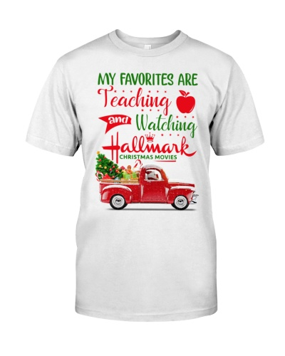 Teacher - My favorite are teaching and watching