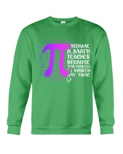 Math Teacher - Your Problem is worth my time Crewneck Sweatshirt thumbnail