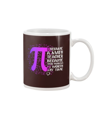 Math Teacher - Your Problem is worth my time