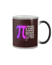 Math Teacher - Your Problem is worth my time Color Changing Mug thumbnail