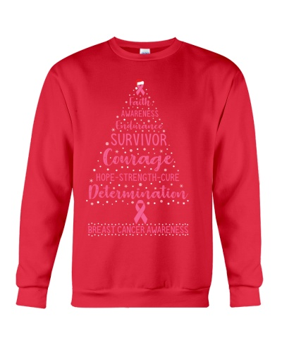 Breast Cancer - Christmas Tree