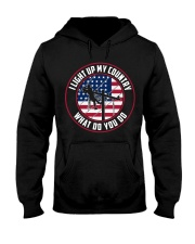 Lineman - I Light up My Country Hooded Sweatshirt thumbnail