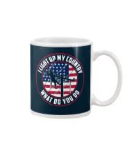 Lineman - I Light up My Country Mug thumbnail