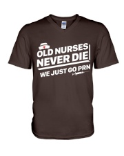 Nurse - Just go PRN V-Neck T-Shirt thumbnail