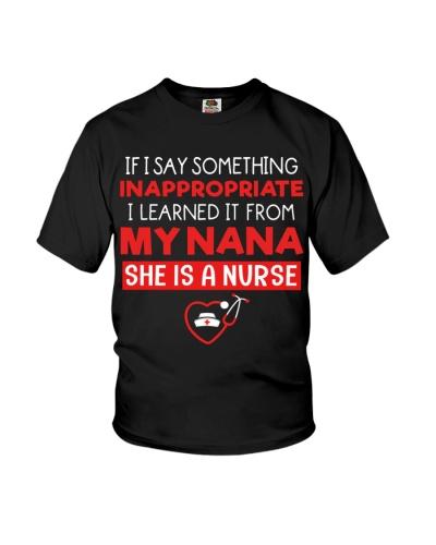 My Nana - She is a Nurse