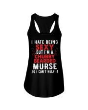 Male Nurse Chubby Bearded Ladies Flowy Tank thumbnail