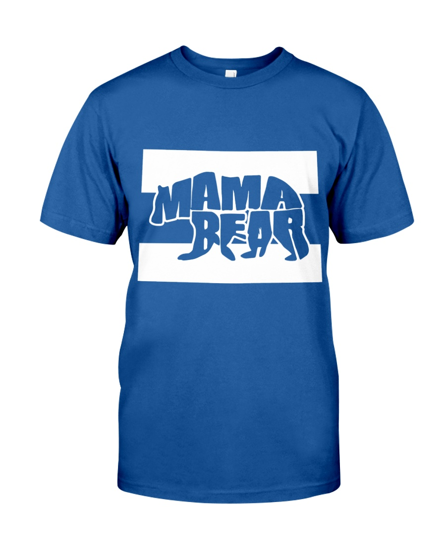 Mama Bear in Colorado - Mother's Day Classic T-Shirt