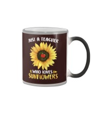 Teacher - Love Sunflowers Color Changing Mug thumbnail