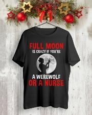 Nurse - Full Moon Classic T-Shirt lifestyle-holiday-crewneck-front-2