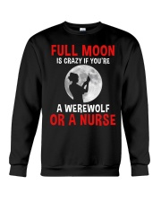 Nurse - Full Moon Crewneck Sweatshirt thumbnail