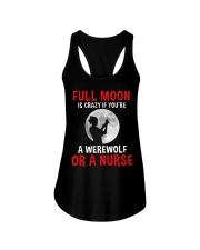 Nurse - Full Moon Ladies Flowy Tank thumbnail
